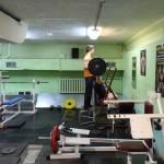 Базовое упражнение для плечей - помощь зала)
