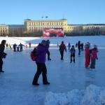 Кататься на коньках в Мурманске
