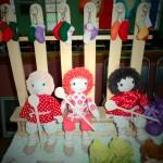 веселые яркие куколки