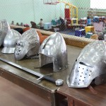 рыцарские шлемы